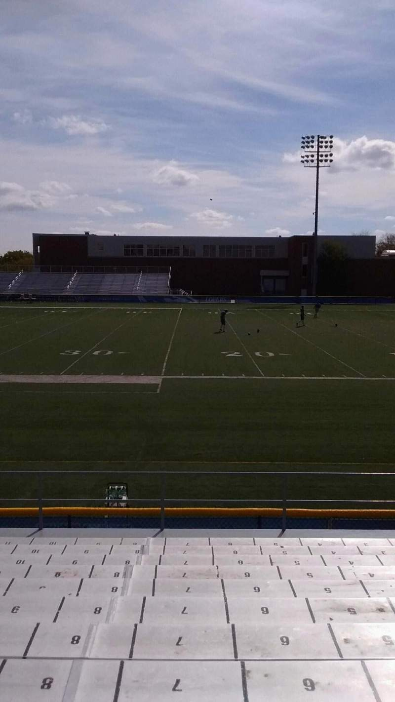 Seating view for Cope Stadium Section A Row 12 Seat 7