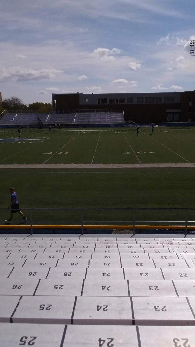 Seating view for Cope Stadium Section B Row 13 Seat 24