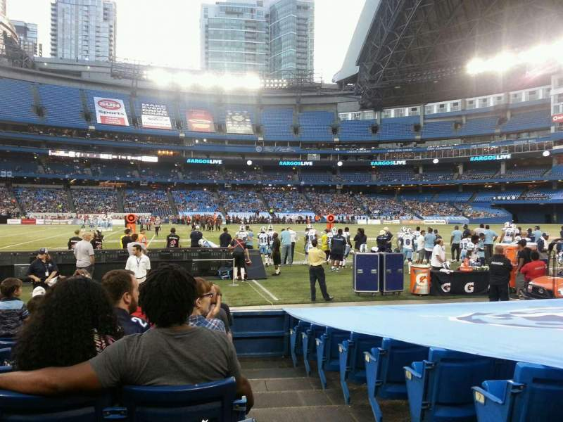 Seating view for Rogers Centre Section 112 Row 10 Seat 101