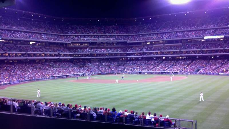 Seating view for Citizens Bank Park Section Bullpen