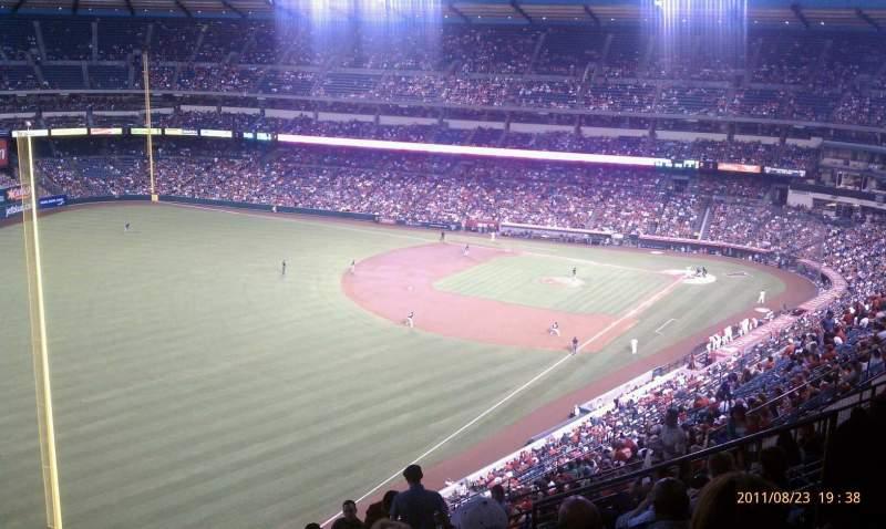 Angel Stadium, section: V505, row: L, seat: 14