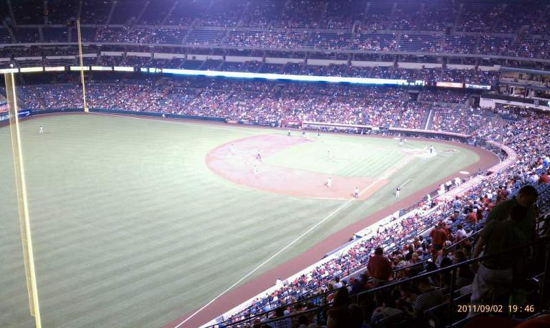 Seating view for Angel Stadium Section V505 Row L Seat 13
