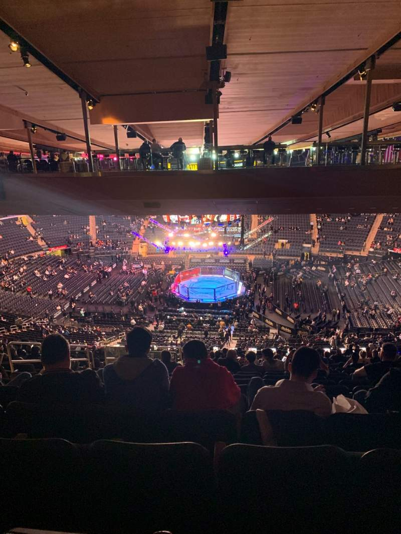 Seating view for Madison Square Garden Section 212 Row 23 Seat 8