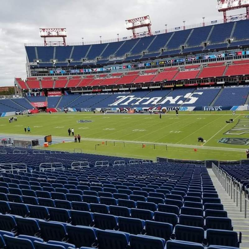 Seating view for Nissan Stadium Section 131 Row KK Seat 8