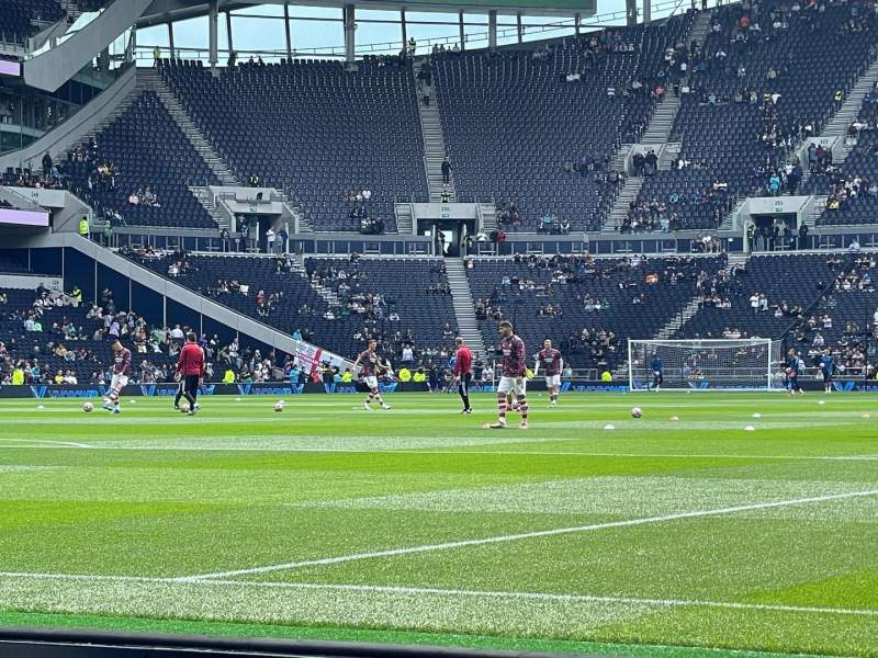 Seating view for Tottenham Hotspur Stadium Section 111 Row 2
