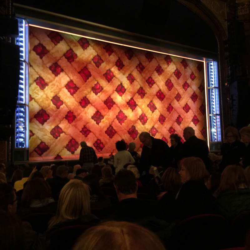 Seating view for Brooks Atkinson Theatre Section Left orchestra Row M Seat 15