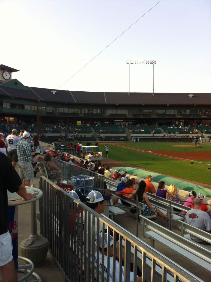Seating view for Dickey-Stephens Park Section Garden