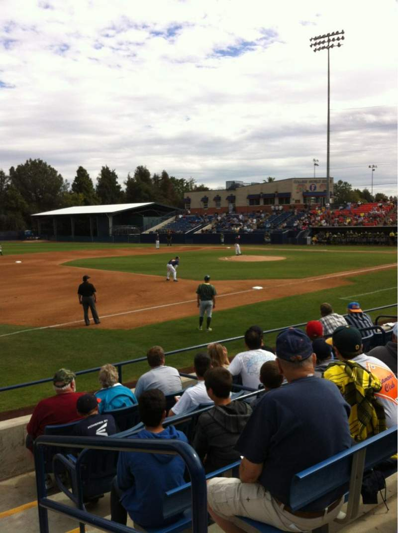 Seating view for Goodwin Field Section R Row GA Seat GA