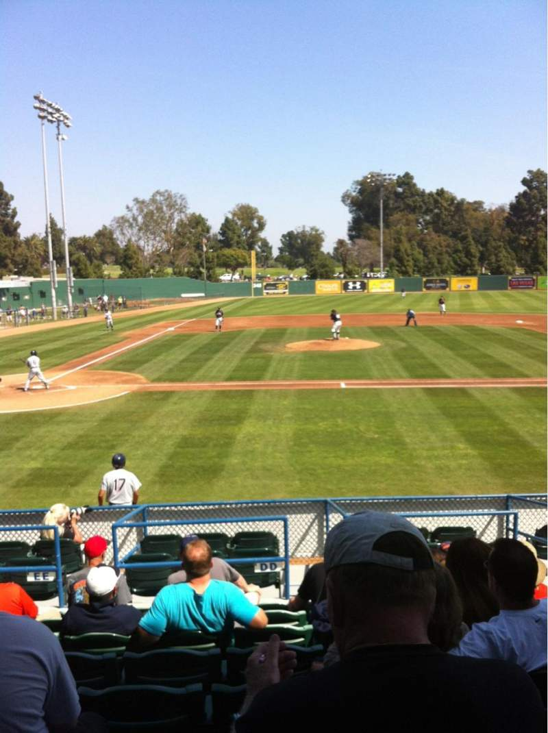 Seating view for Blair Field Section Ga
