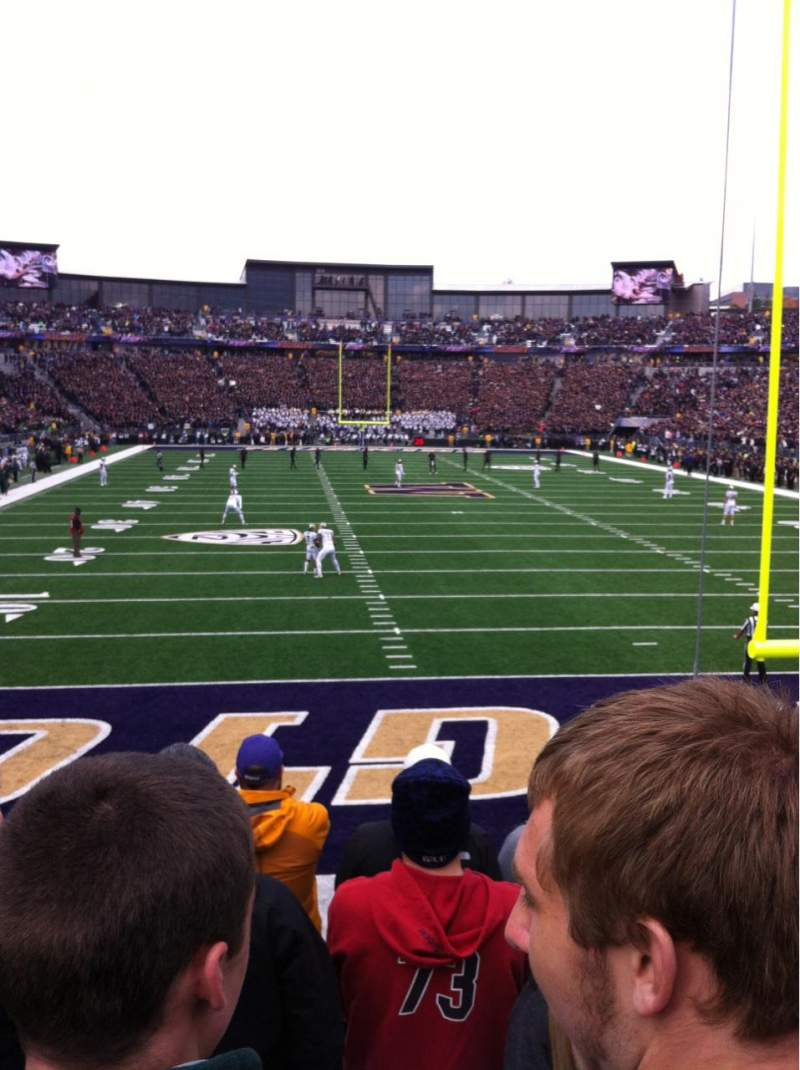 Seating view for Husky Stadium Section 138 Row 6 Seat 3