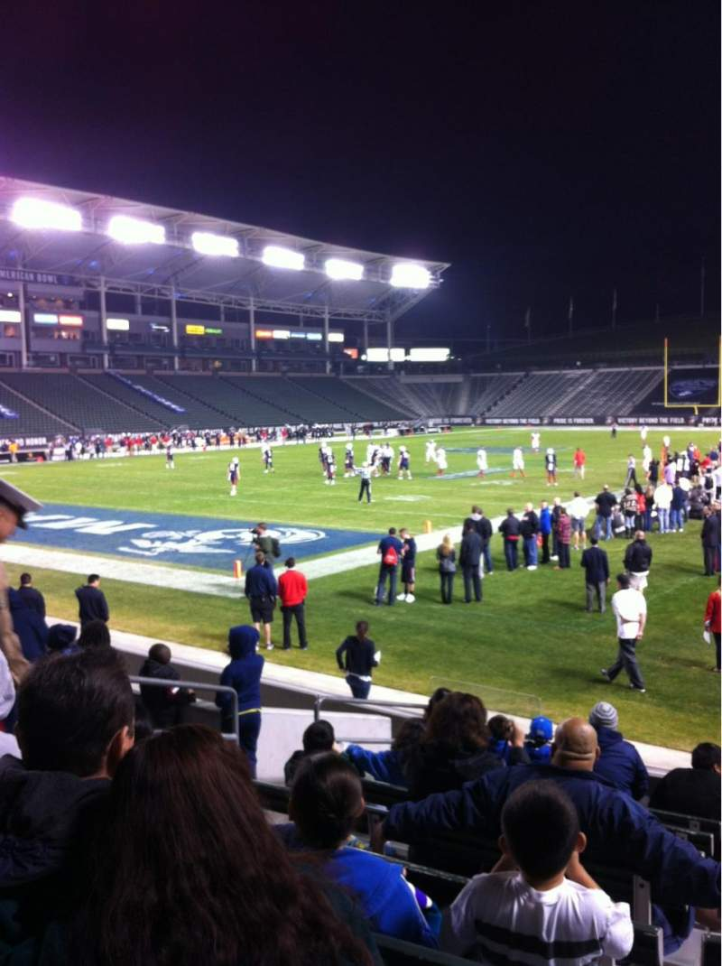 Seating view for Stubhub Center Section 139 Row K Seat 5