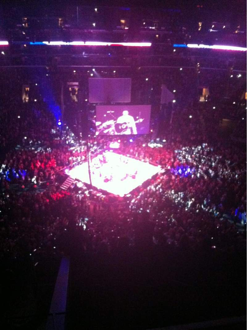 Staples Center, section: 318, row: 8, seat: 30