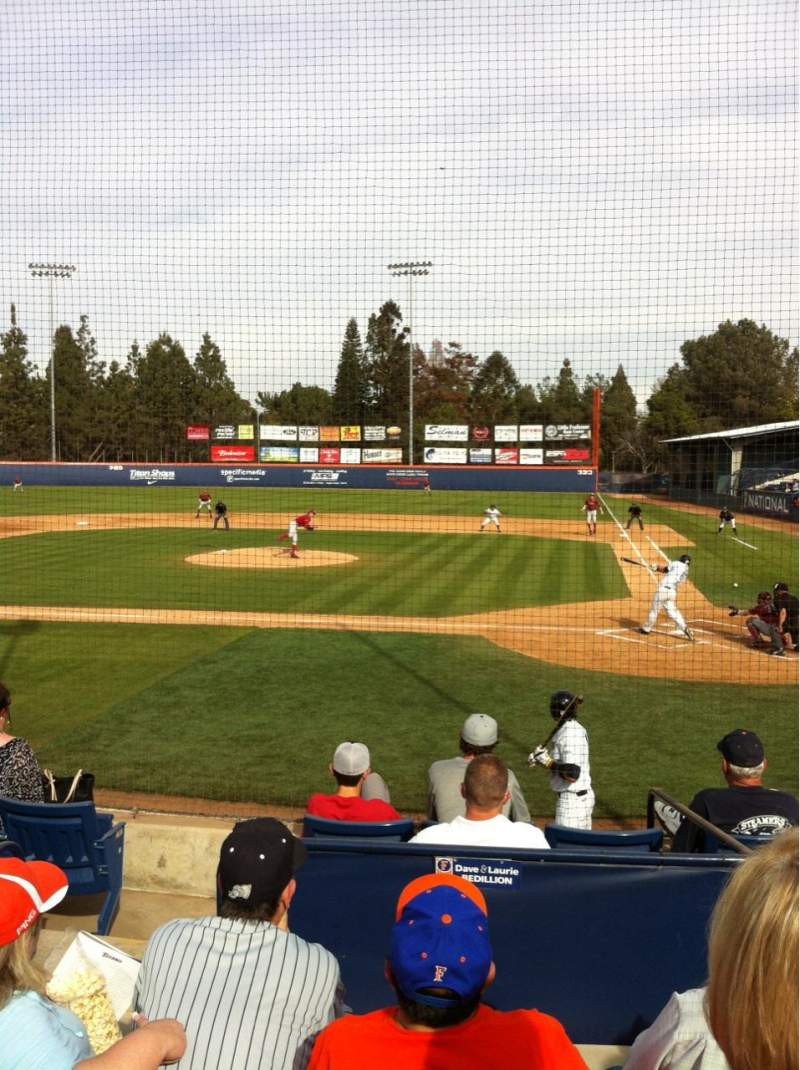 Seating view for Goodwin Field Section L Row G Seat 7