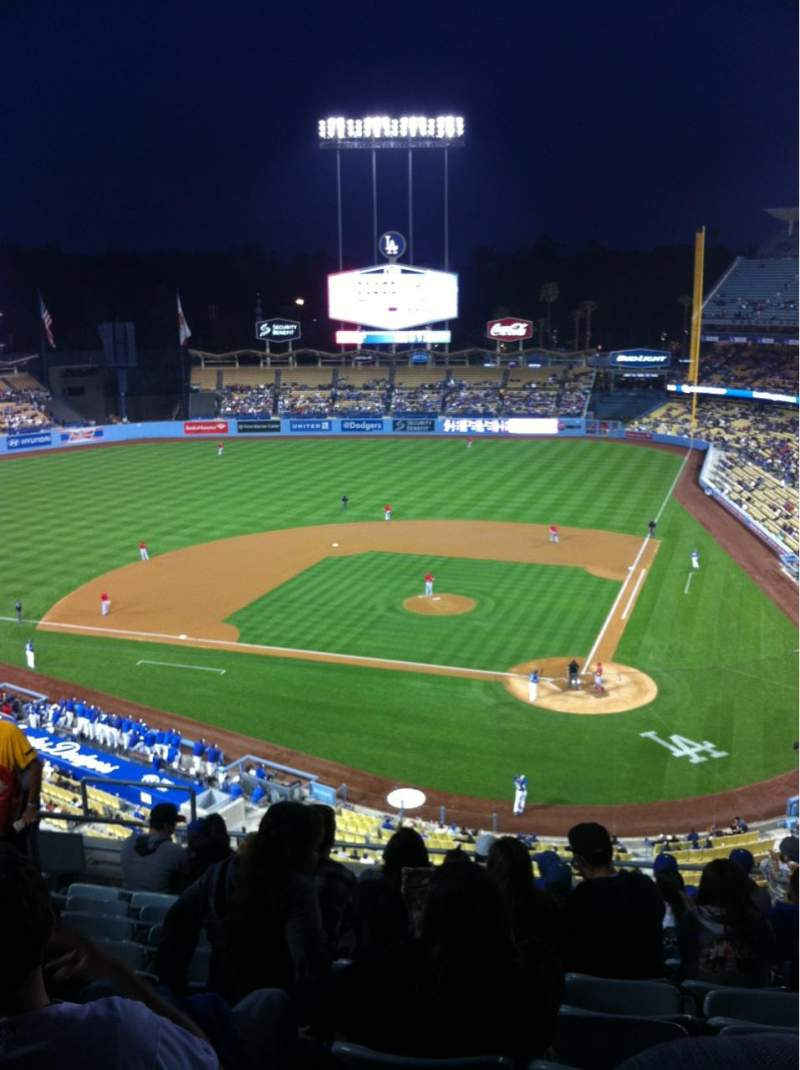 Seating view for Dodger Stadium Section 7RS Row K Seat 15