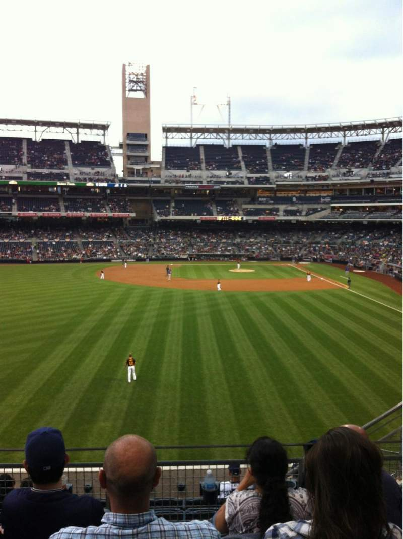 Seating view for Petco Park Section 226 Row 8 Seat 5