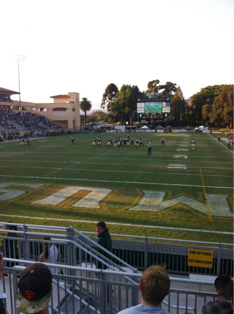 Seating view for Alex G. Spanos Stadium Section GA