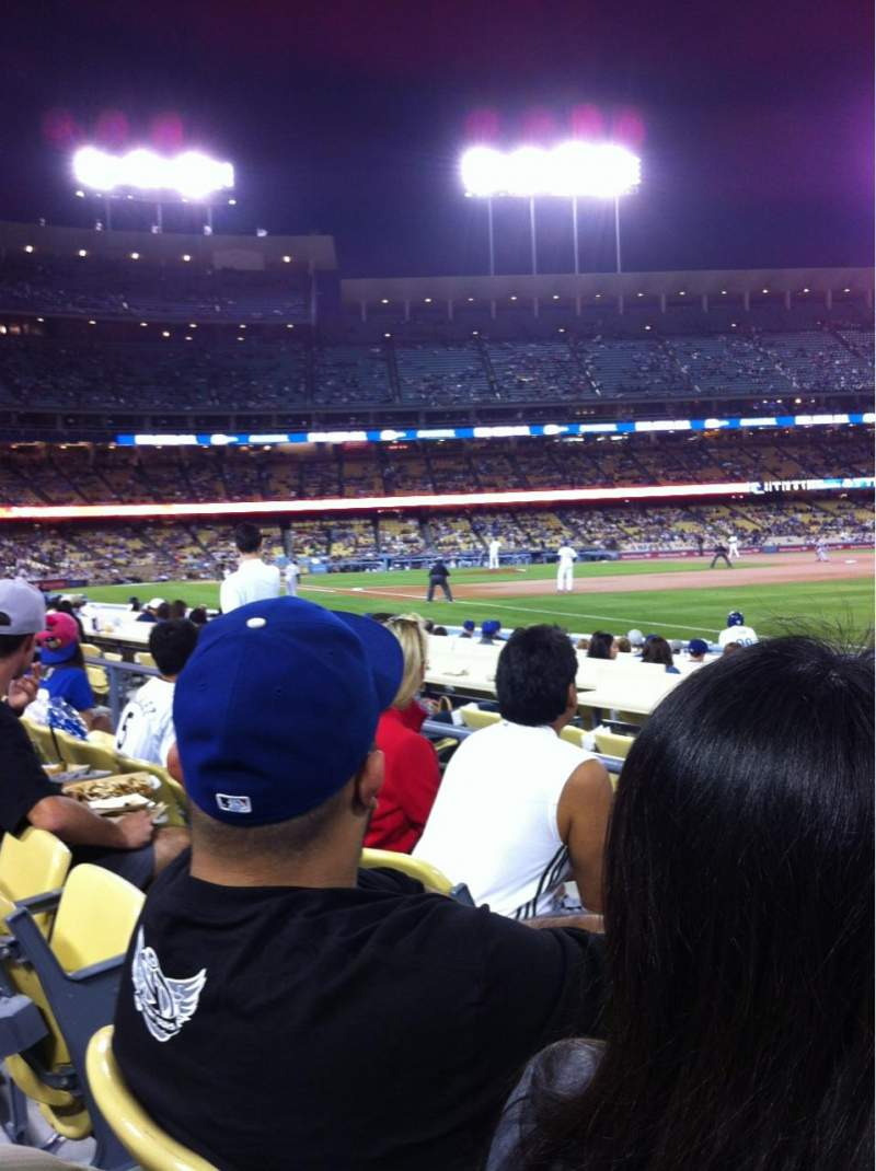 Seating view for Dodger Stadium Section 42FD Row C Seat 3