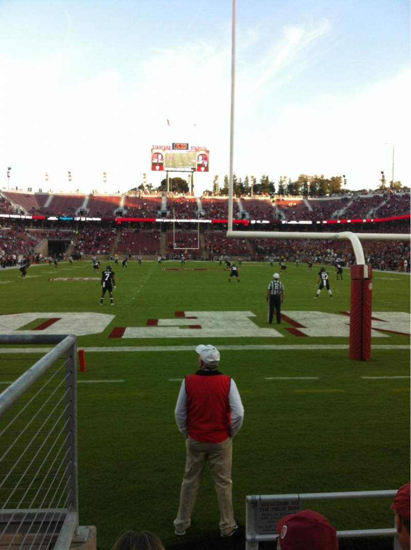 Seating view for Stanford Stadium Section 123 Row B Seat 21