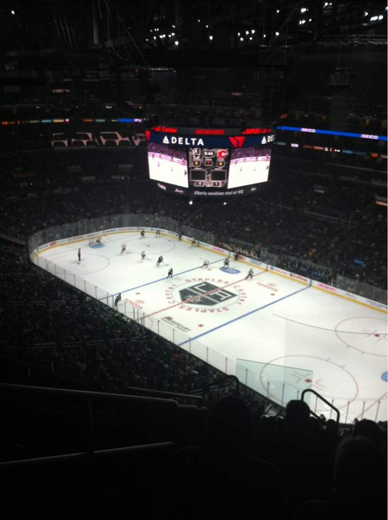 Seating view for Staples Center Section 314 Row 10 Seat 13