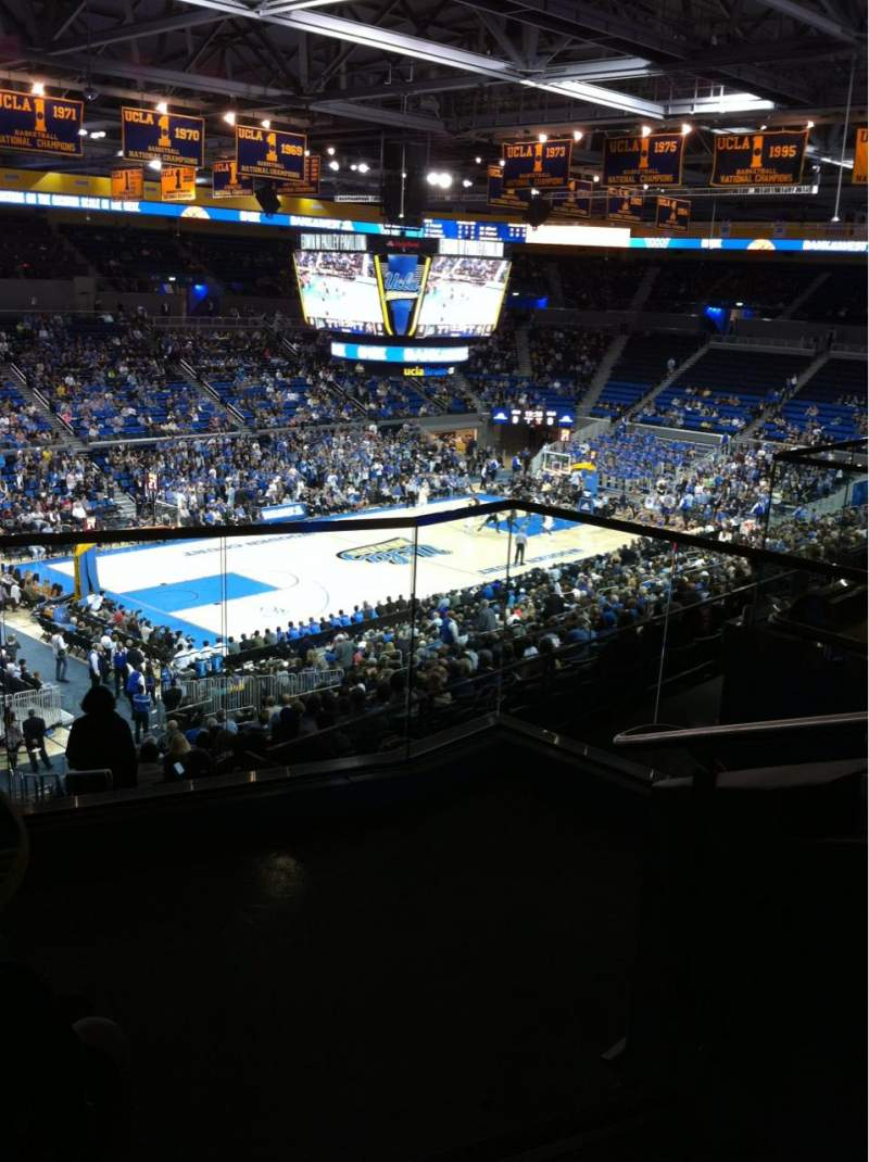 Seating view for Pauley Pavilion Section 206A Row 4 Seat 1