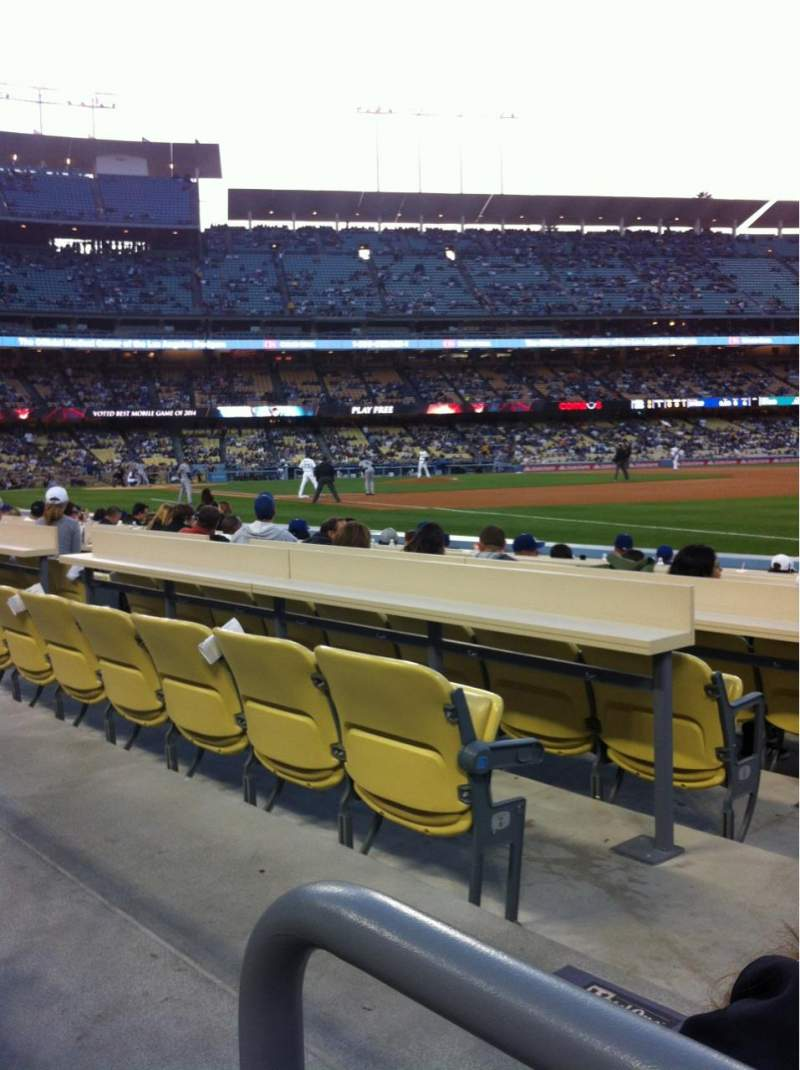 Seating view for Dodger Stadium Section 38FD Row A Seat 2