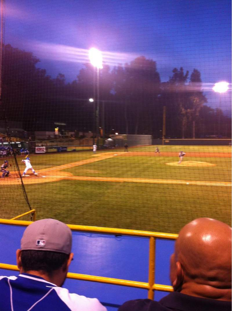 Seating view for Jackie Robinson Stadium Section 2 Row E Seat 11