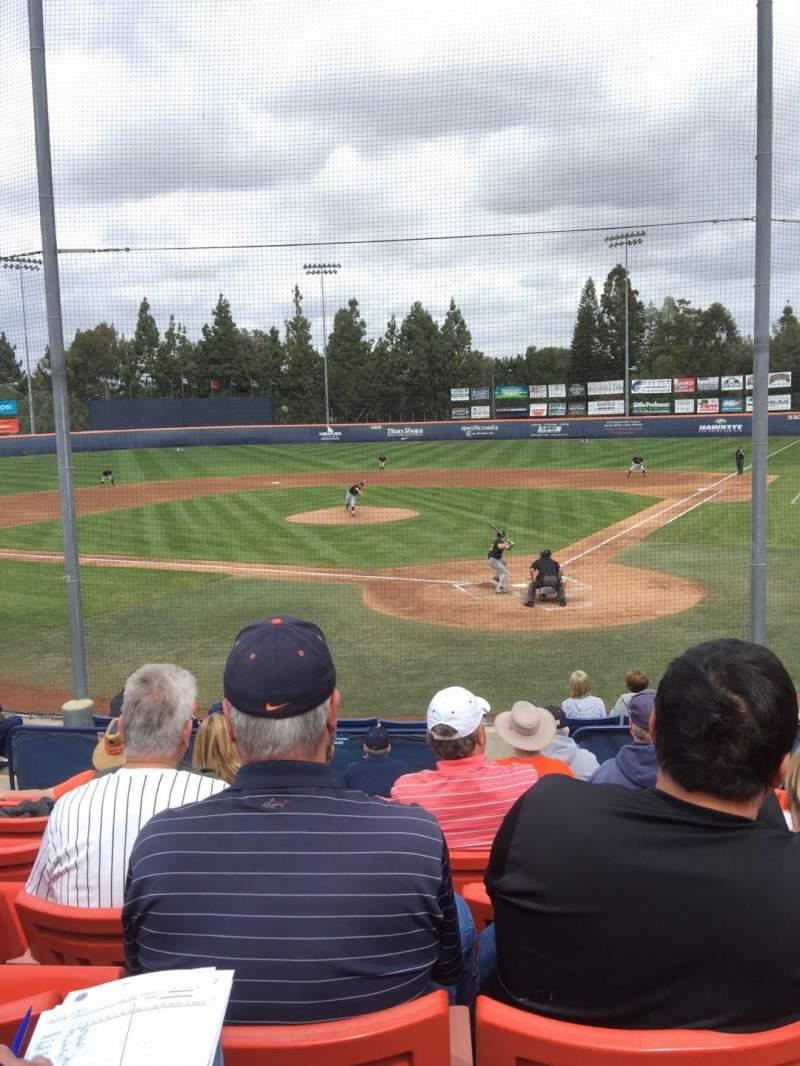 Goodwin Field, section: K, row: L, seat: 8