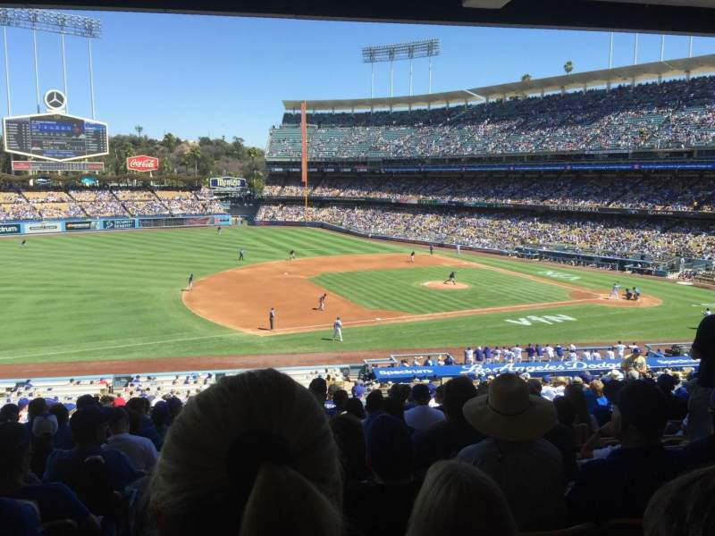 Seating view for Dodger Stadium Section 139LG Row S Seat 7