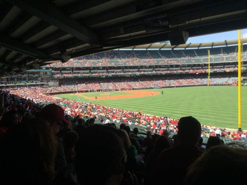 Angel Stadium, section: T230, row: J, seat: 18