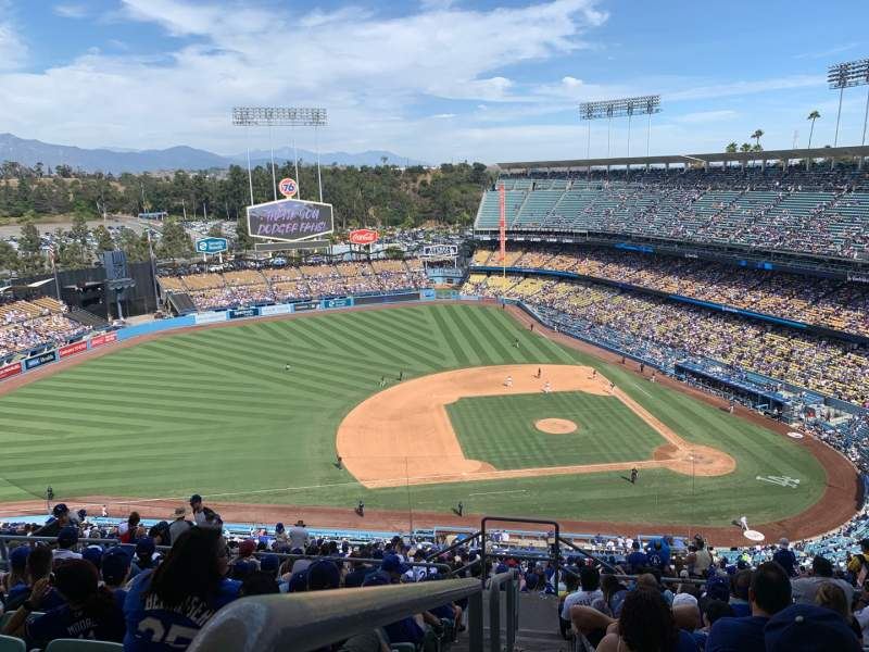 Seating view for Dodger Stadium Section 17RS Row JJ Seat 23