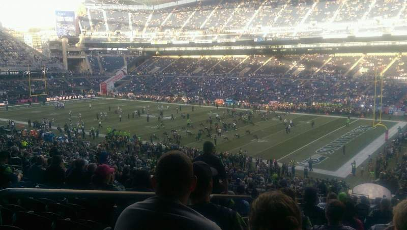 Seating view for CenturyLink Field Section 229 Row Y Seat 7