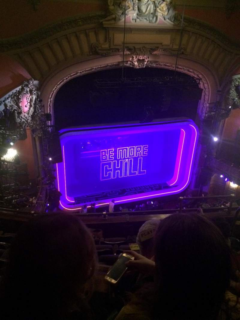 Seating view for Lyceum Theatre (Broadway) Section Balcony L Row F Seat 11