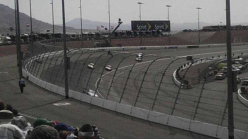 Seating view for Las Vegas Motor Speedway