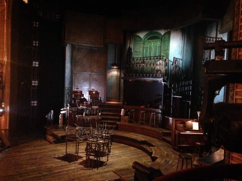 Seating view for Walter Kerr Theatre Section Box A Row 1 Seat 1