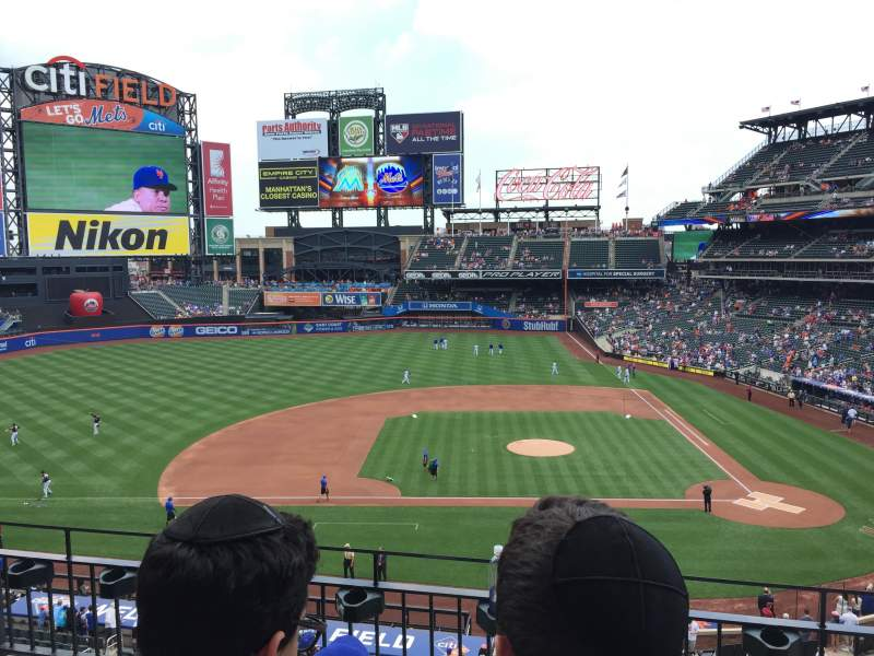 Seating view for Citi Field Section 326 Row 3 Seat 7