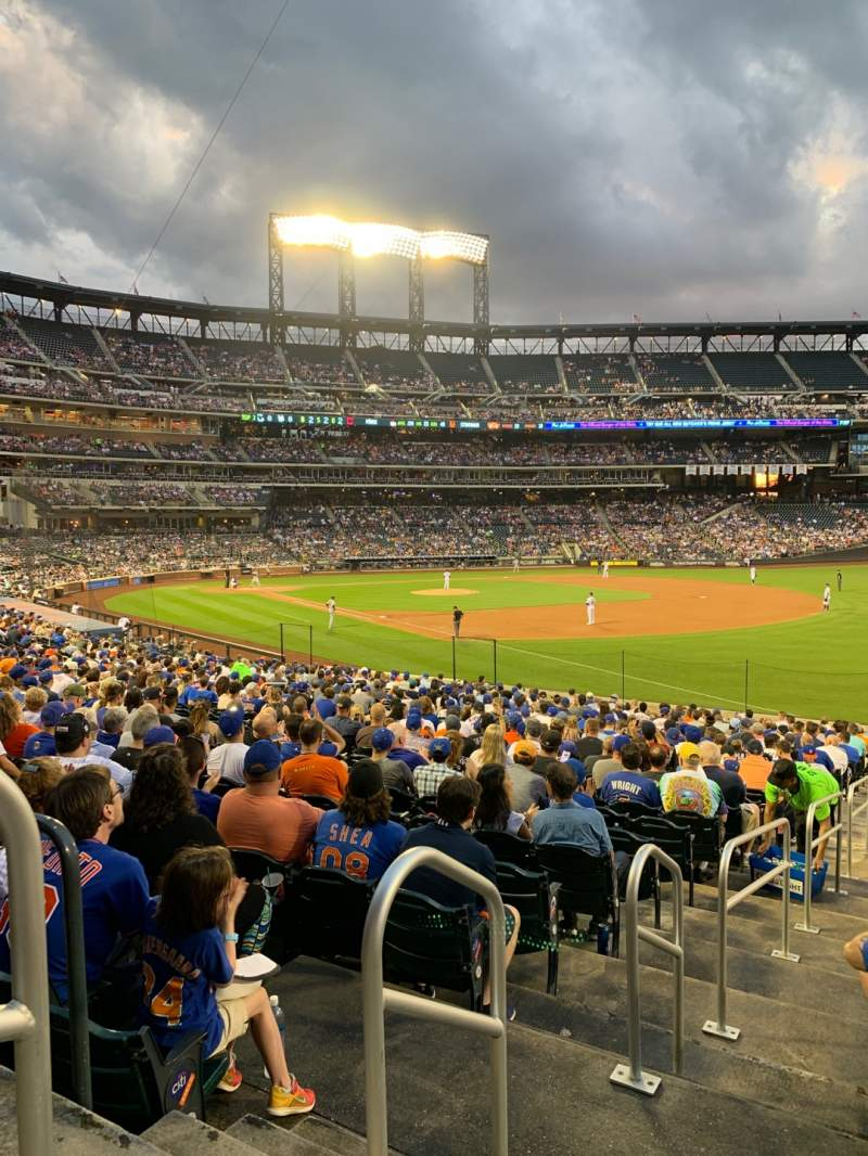 Seating view for Citi Field Section 108 Row 24 Seat 2