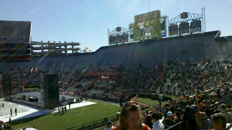 Seating view for Jordan-Hare Stadium Section 9