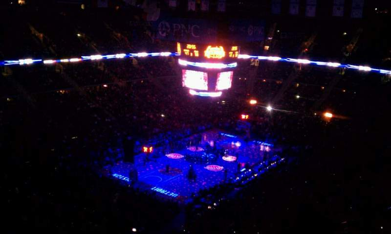 Seating view for The Palace of Auburn Hills Section 220 Row 19 Seat 19