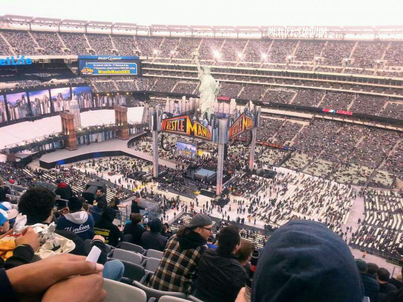 Seating view for MetLife Stadium Section 335 Row 20 Seat 12