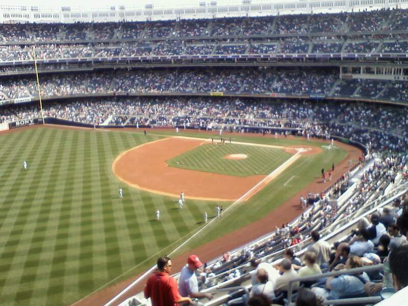 Seating view for Yankee Stadium Section 429 Row 11 Seat 7