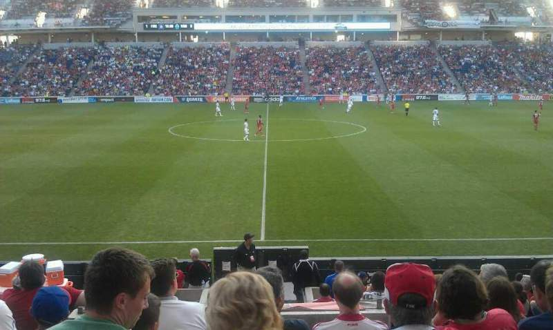 Seating view for Toyota Park Section 128 Row 14 Seat 128