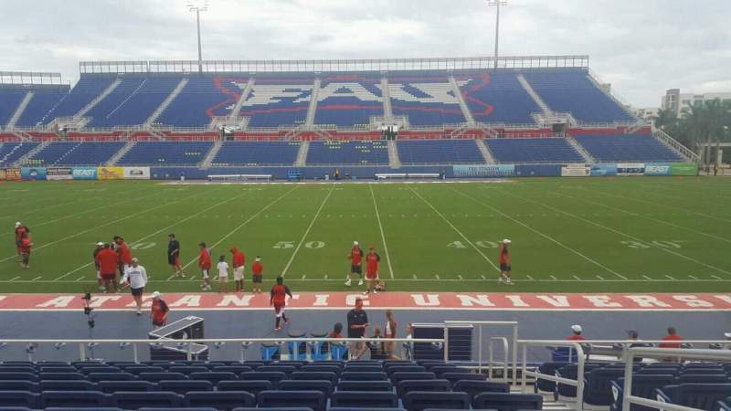 Seating view for FAU Stadium Section 105 Row L Seat 3