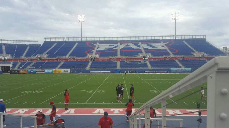 Seating view for FAU Stadium Section 106 Row F Seat 1
