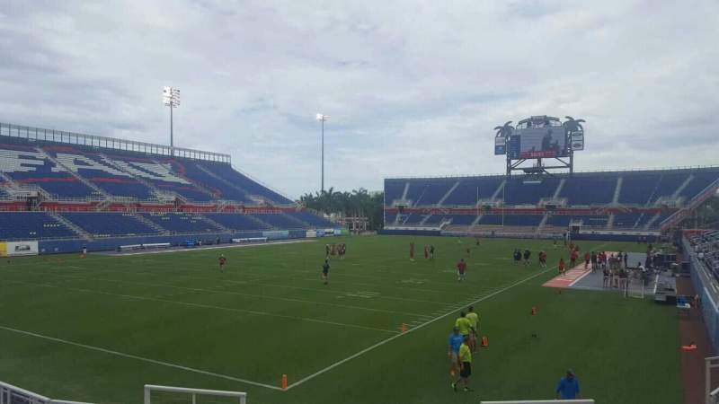 Seating view for FAU Stadium Section 114 Row L Seat 5