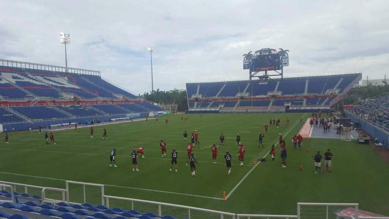 Seating view for FAU Stadium Section 115 Row M Seat 4