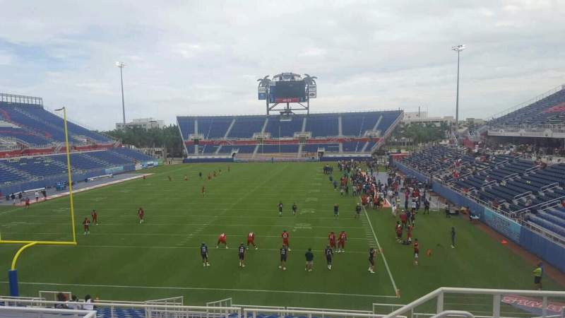 Seating view for FAU Stadium Section 216 Row F Seat 3