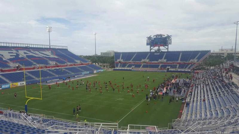 Seating view for FAU Stadium Section 214 Row S Seat 20