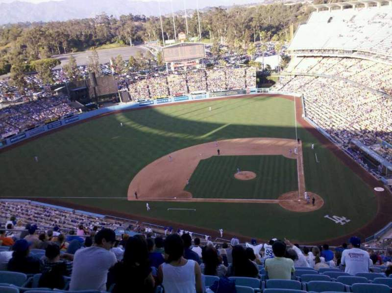 Seating view for Dodger Stadium Section 11TD Row K Seat 8