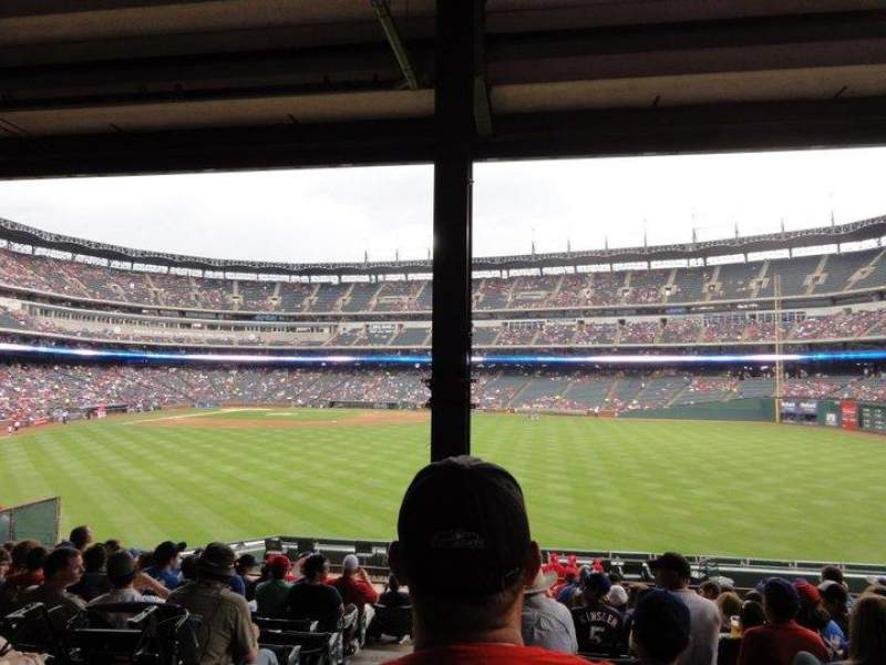 Seating view for Globe Life Park in Arlington Section 49