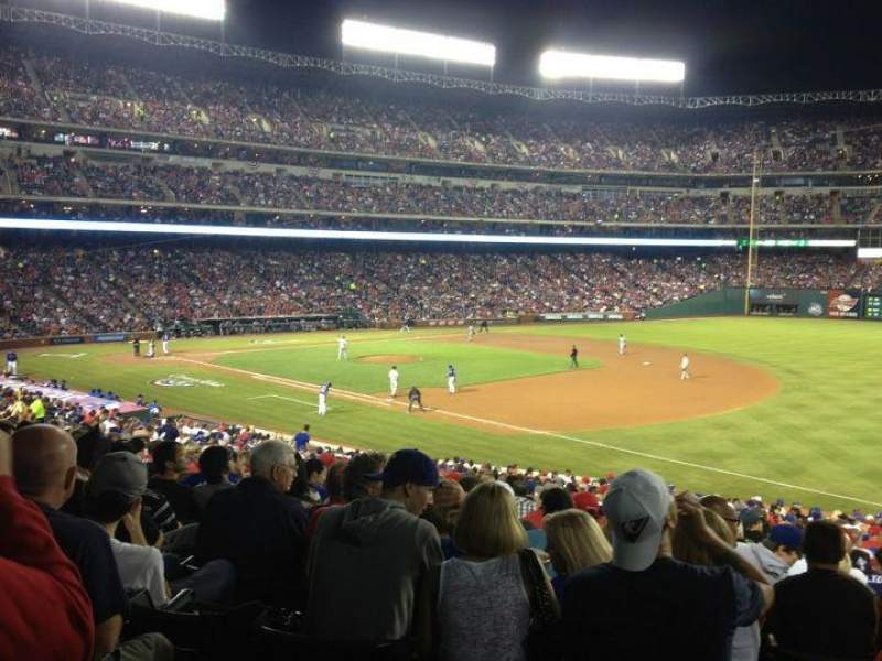 Seating view for Globe Life Park in Arlington Section 37 Row 31